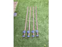 Sash clamps x 4