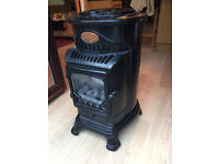 Calor Gas Real Flame Effect Provence Mobile Heater/Fire