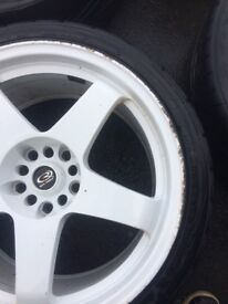 "Rota GT 18"" alloy wheels"