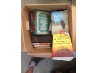 BOX OF QUALITY TRAVEL BOOKS AND OTHERS