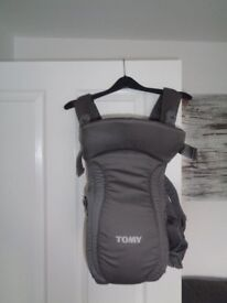 Tomy baby carrier and Tomy baby carrier cover