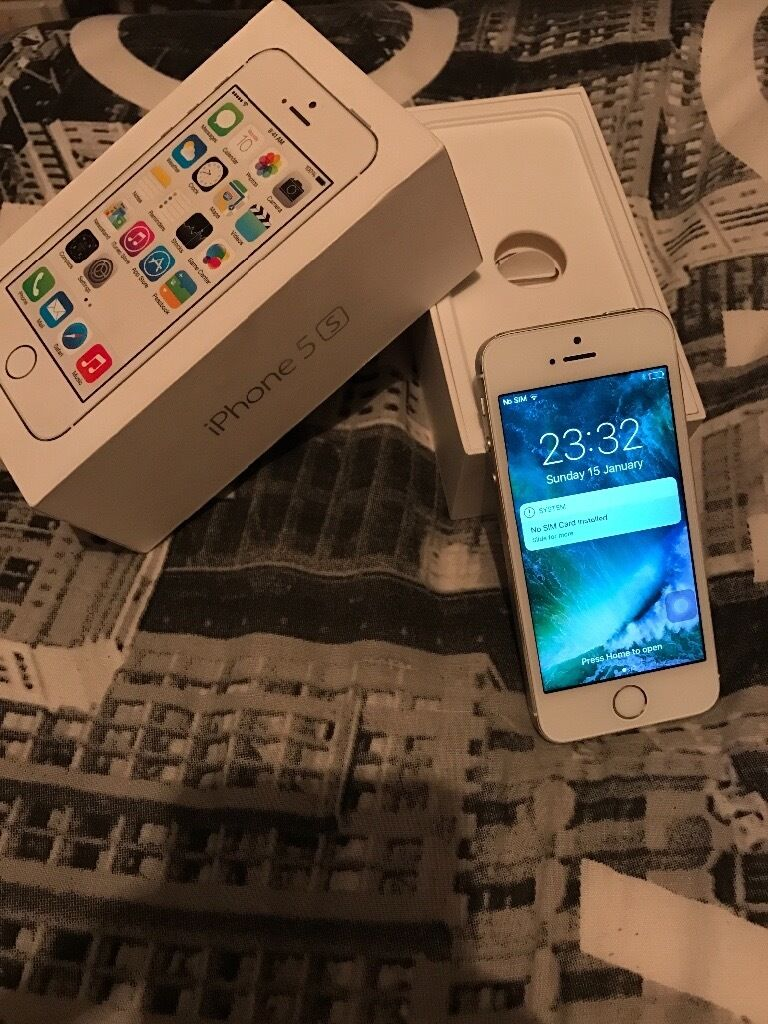iPhone 5s Unlockedin Hemlington, North YorkshireGumtree - iPhone 5s Unlocked, great condition. Can be used with any network, comes boxed. Home button is abit dodgey but a very very cheap fix. Will come reset as new. £100