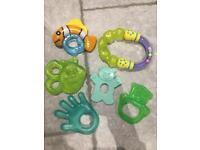Baby teething toys bundle