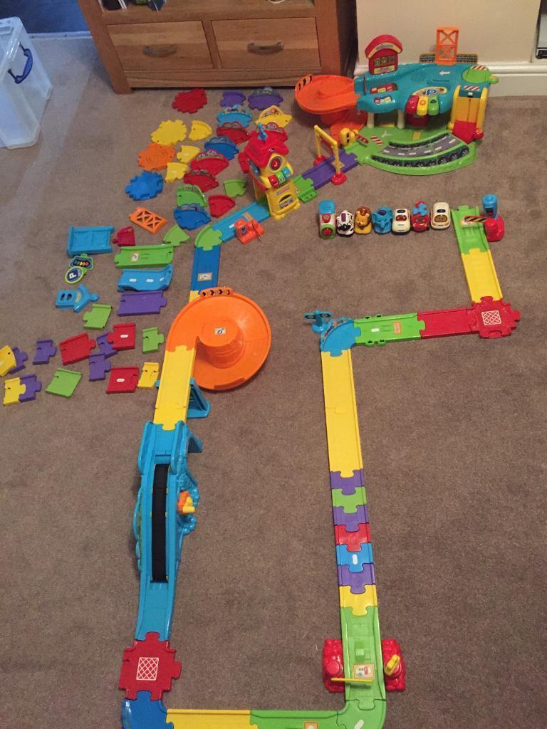 Toot toot vtech bundle car garage train station toy