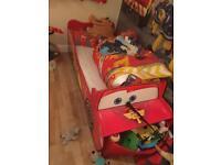 Toddler bed lightening McQueen