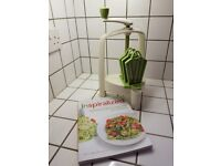 Lurch Spiralo Vegtable Spiralizer plus Inspiralized Book by Ali Maffucci REDUCED to £10