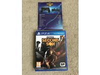 Infamous second son ps4 game ( PlayStation 4 games )