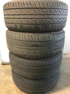 Set of 215/55R16 all season tires. 215 55 16