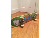 Skate board - brand new. Hardly used.