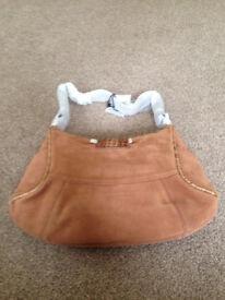 Nuovedive suede handbag - brand new - near Ferndown