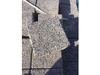 Acheson & Glover paving, slate colour 150 x 150.