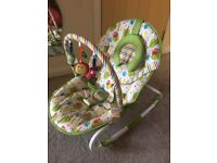 Baby seat bouncer swing