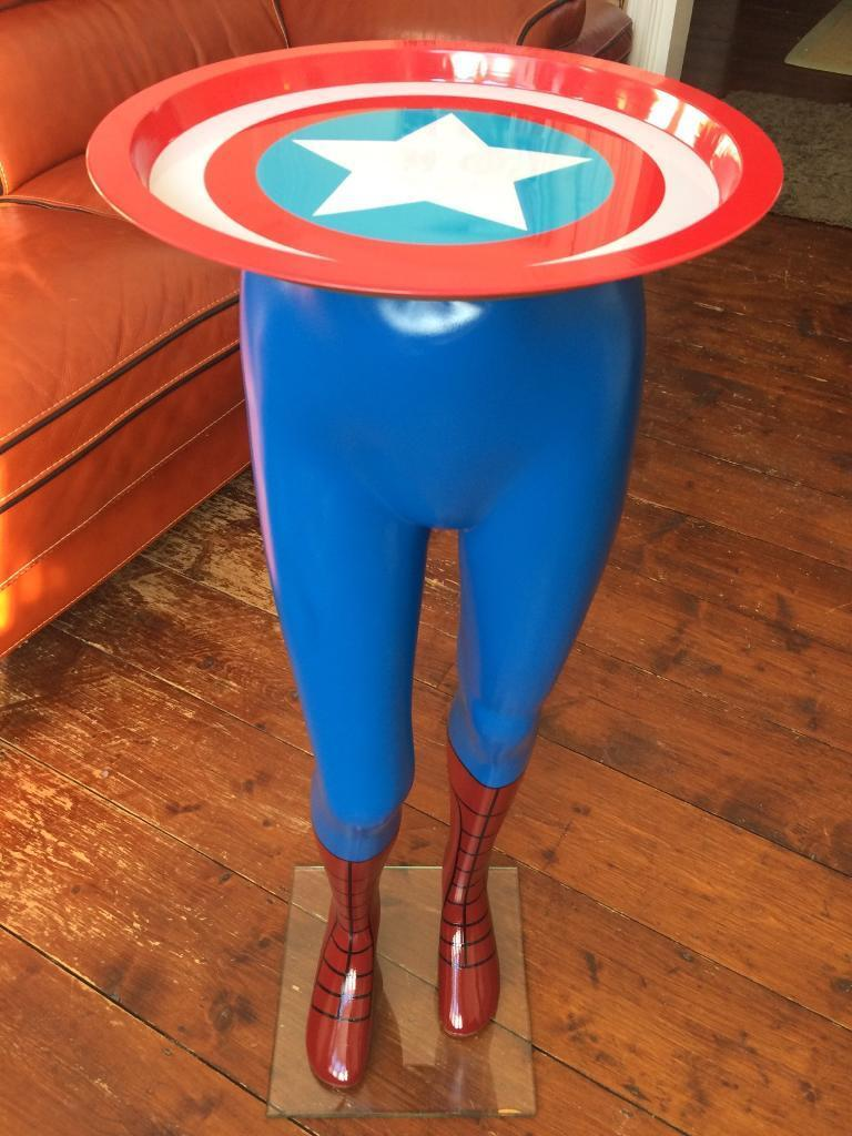 Captain America occasional table