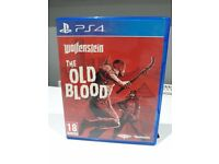 WOLFSTEIN: THE OLD BLOOD- PS4/PLAYSTATION