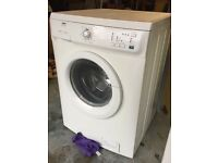 Zanussi washing machine white 6kg