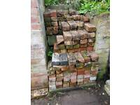 Approx 170-200 Reclaimed Bricks free to collect from city centre