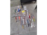 joblot of hand tools
