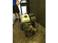 Petrol pressure washer and lance Honda