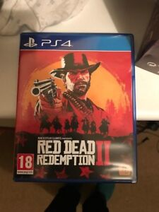 red redemption 2 ps4