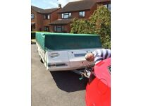 Pennine Pathfinder 600 TC with awning, water and waste barrels & gas cylinder