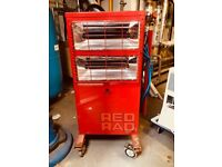 Red rad radiant electric heater