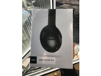 Sealed New Bose QuietComfort QC35 2 Wireless Headphones - Black 2 year warranty