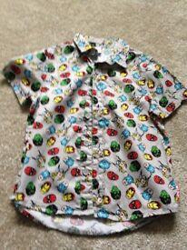 Boys Avengers Shirt 4 years