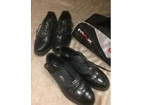 2 pairs of Dunlop golf shoes. Size 9