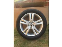 """4 18"""" Seat Ateca alloy wheels with Bridgestone tyres. Brand new off of factory made vehicle."""