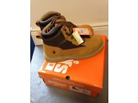 Scruff Work Boots Steel Toe Cap & Mid Sole - Tan New Sizes 8 9 10 11 in stock -Bosch Dewalt makita