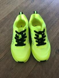 Brand new kids size 9 trainers
