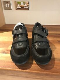 Leather Geox women's shoes size 5