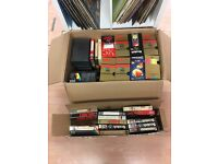 100+ Used Blank VHS tapes