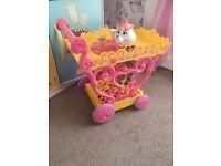 Disney Belle tea trolley