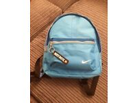 Boys blue Nike Rucksack in excellent condition