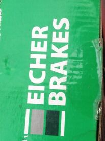 FORD Brake disks and pads Eicher Brakes