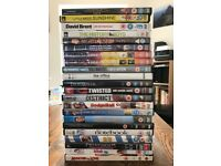 Selection of over 20 DVDs - take them all for £5