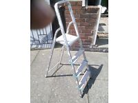 Set of folding step Ladders solid excellent cndition