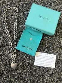 Genuine Tiffany heart necklace