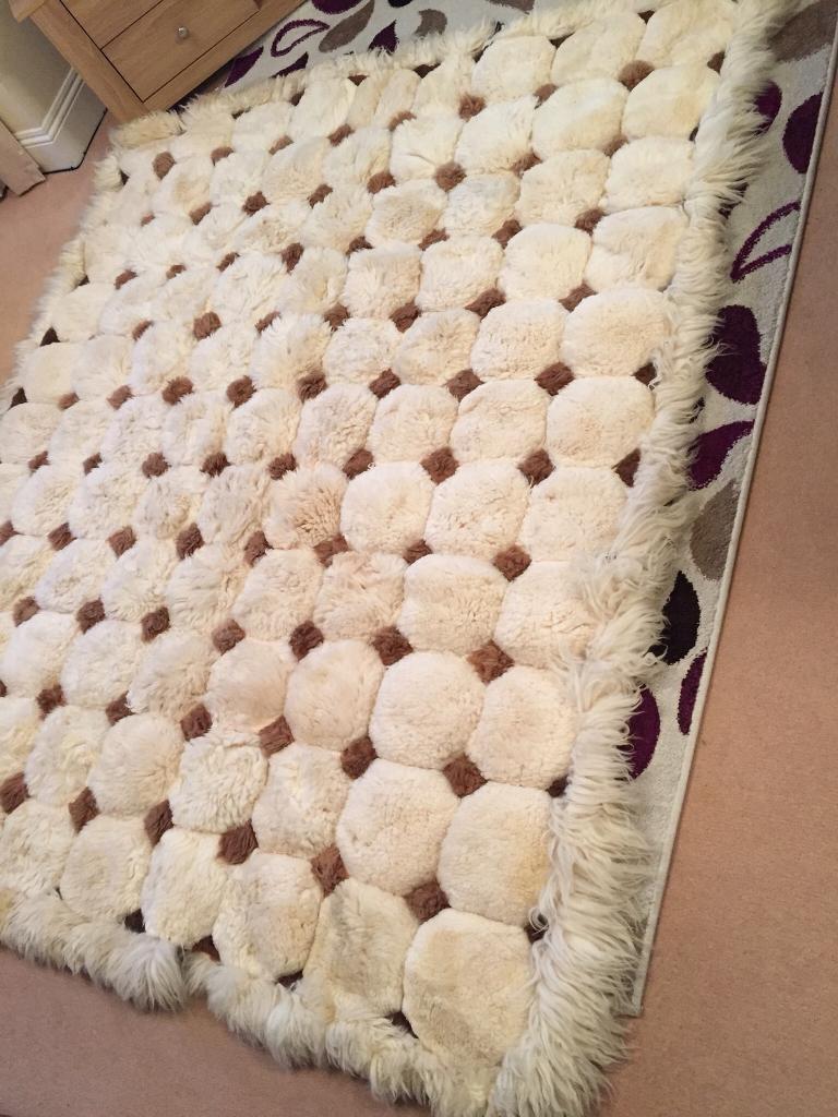 100/% Alpaca Rug Yarn Multicolor