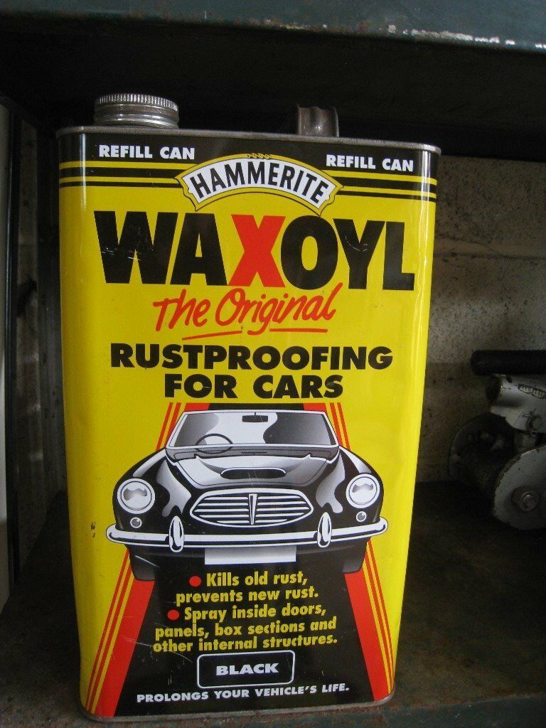 Job lot of 2 items. Hammerite Rustproofing starter kit and a 5 litre refill can