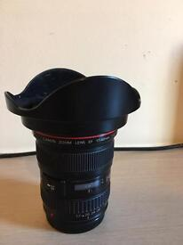 Canon EF 17-40mm Lens