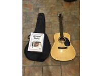 Encore Acoustic Guitar (Beginners Guitar, Encore W255)