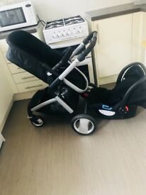 Fairly used 2 in 1 mother care buggy.