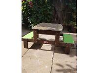 Little tikes sand pit/picnic table