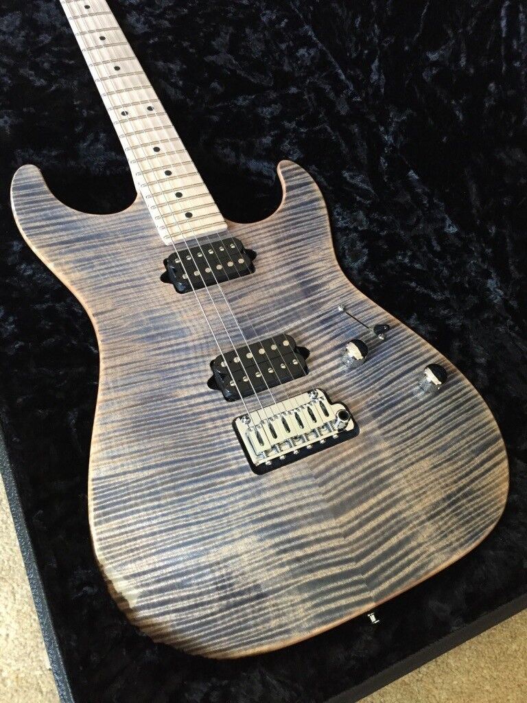 2017 Suhr Standard Trans Blue Denim Slate With Matching Headstock- £2200