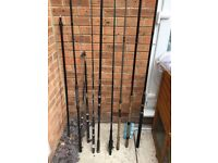 Fishing Rods, Reels and many accessories