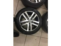 Set of 4 VW 16 inch golf SE alloy wheels