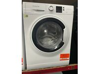 8KG WHITE HOTPOINT WASHING MACHINE GRADED NOT USED