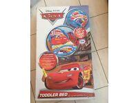 Brand New Lightening McQueen Toddler Bed